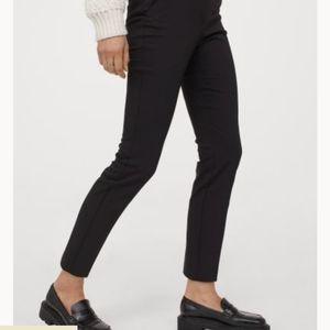 Grey Serge Skinny Ankle Dress Pants
